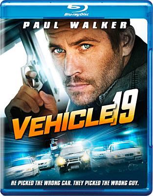 VEHICLE 19 BY WALKER,PAUL (Blu-Ray)