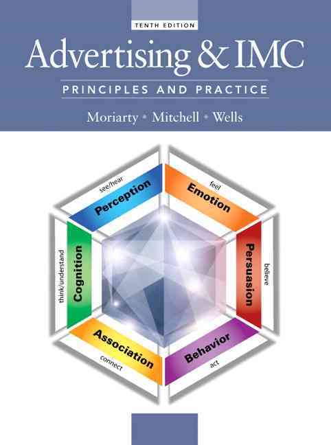 Advertising & Imc By Moriarty, Sandra/ Mitchell, Nancy/ Wells, William D.